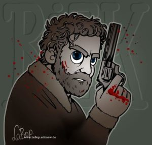 Comic von The Walking Dead Hauptcharakter Rick